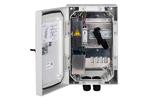 Slat: Netzwerk-Schnittstellengehäuse mit Switch, USV und Überspannungsschutz