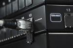 Kupferkabel und Tera-Steckverbinder für 25GBase-T und 40GBase-T