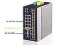 Spectra stellt kompakten Industrie-Switch mit 10G-Ports vor