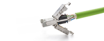 Industrieller RJ45-Steckverbinder soll Service-Technikern die Arbeit erleichtern