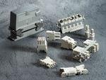 Kunststoff-Andockrahmen ermöglicht Blind Mating von Heavy-Duty-Steckverbindern