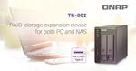 Qnap: Speichererweiterung für NAS oder PC