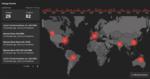 Interaktive globale Live-Karte zur Visualisierung von Internetausfällen
