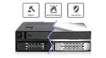 Icy Dock: Robuster Wechselrahmen für SSDs und HDDs
