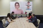 Skalierbare Videokonferenzlösung mit 4K-Auflösung für Großunternehmen