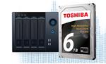 6-TByte-Festplatten für den Dauerbetrieb in NAS-Systemen